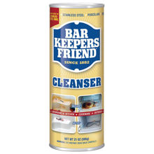Picture of BAR KEEPERS FRIEND CLEANSER & POLISH (NSF REG. / UNSCENTED) 12/21 OUNCE CANS PER CASE