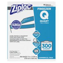 Picture of SCJP Ziploc Freezer Quart Bag - 300 Count