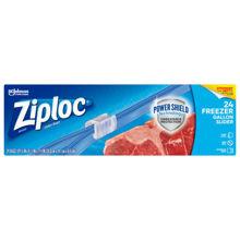 Picture of SCJP Ziploc Slider Freezer Gallon Bag - 24 Count - 9 Per Case (SO)