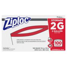 Picture of SCJP Ziploc Storage 2 Gallon - 100 Count