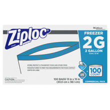 Picture of SCJP Ziploc Freezer 2 Gallon - 100 Count