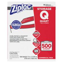 Picture of SCJP Ziploc Storage Quart Bag - 500 Count
