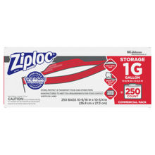 Picture of SCJP Ziploc Storage Gallon Bag - 250 Count
