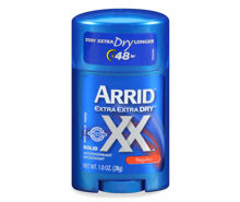 Picture of ARRID XX SOLID DEODORANT, REGULAR SCENT 12 X 1 OUNCE PER CASE