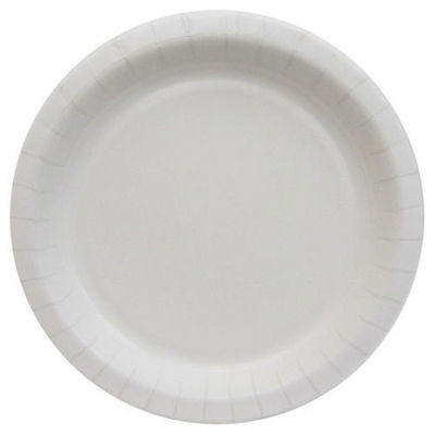 "Picture of ULTRA 8.5"" COATED PAPER PLATE - WHITE - 2/125 CASE"