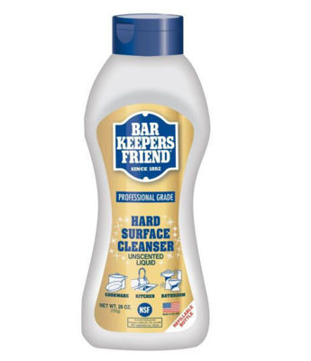 Picture of BAR KEEPERS FRIEND PROFESSIONAL GRADE HARD SURFACE CLEANSER (NSF/UNSCENTED) 9/26 OZ. BOTTLES PER CS