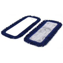 "Picture of Dust Mop - 36"" - Blue - W/Velco Back For Flat Mop Base - 1 Each - 4 Dozen Per Case"