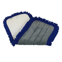 "Picture of Dust Mop - 18"" - Blue - W/Velco Back For Flat Mop Base - 1 Each - 8 Dozen Per Case"