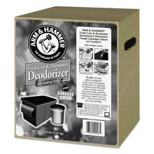 Picture of ARM & HAMMER TRASH CAN & DUMPSTER DEODORIZER 1 X 30 POUND CASE