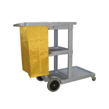 "Picture of ""Janitor Cart with Zipper Bag, Grey"""