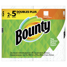Picture of BOUNTY REGULAR DOUBLE PLY 2DP WH  90CT KDF SQF 140 2X6 PER CASE
