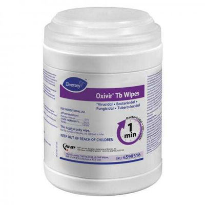 Picture of OXIVIR TB WIPES - NEW 4 PACK - 4X160 EA (US)