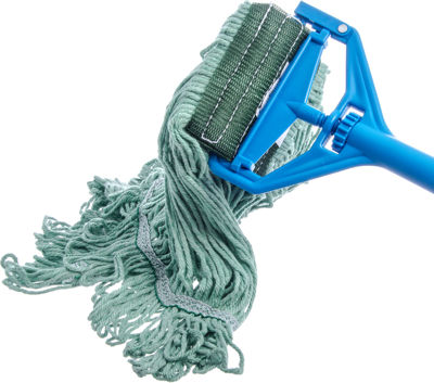 Picture of FLO-PAC MEDIUM LOOPED-END MOP WITH GREEN BAND - GREEN - 12/PACK